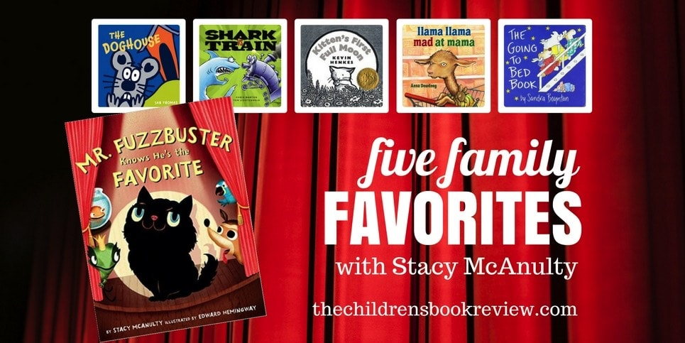 Stacy McAnulty, Author Of Mr. Fuzzbuster Knows He's The Favorite