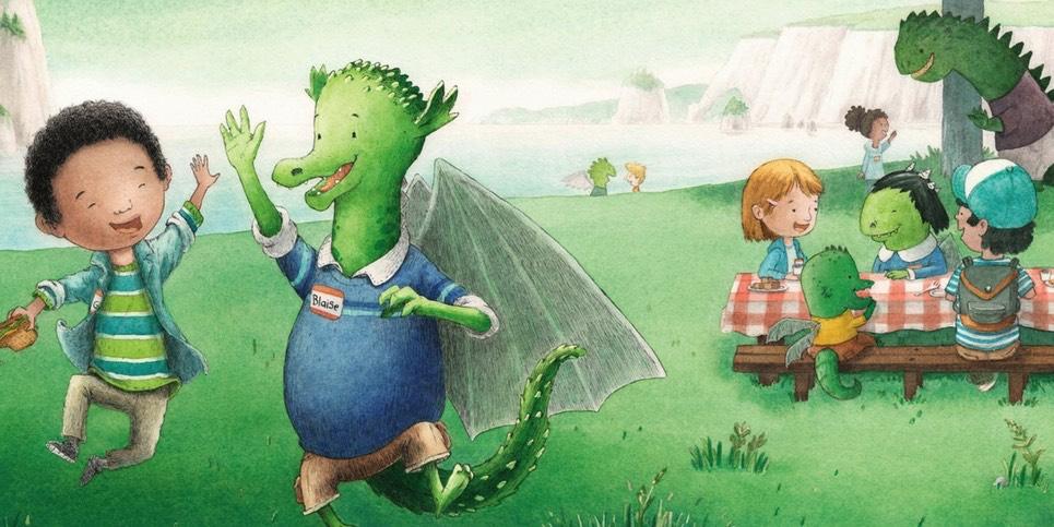 Dear Dragon A Pen Pal Tale by Josh Funk Book Review