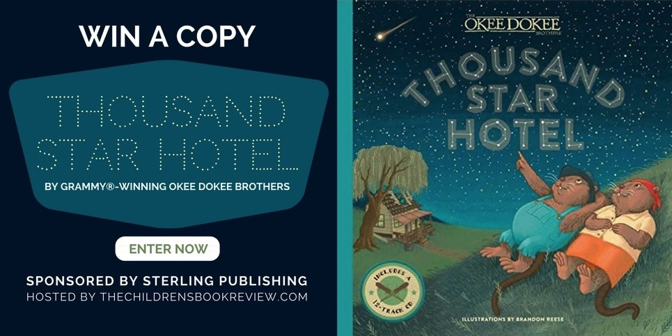 Thousand Star Hotel, by The Okee Dokee Brothers Book Giveaway