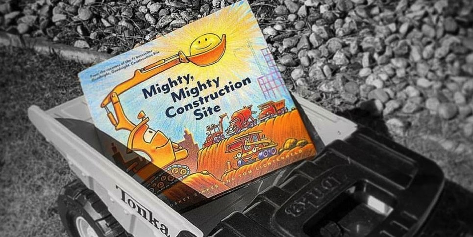 Mighty, Mighty Construction Site, by Sherri Duskey Rinker Book Review