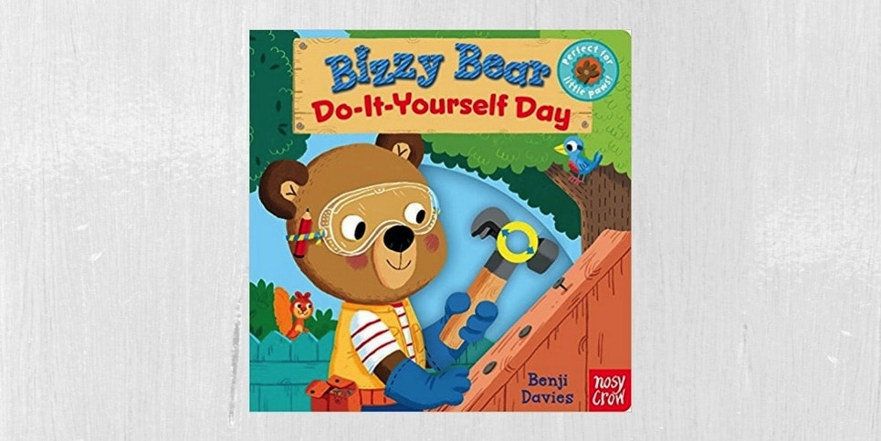 Bizzy Bear Do-It-Yourself Day by Nosy Crow Book Review 2