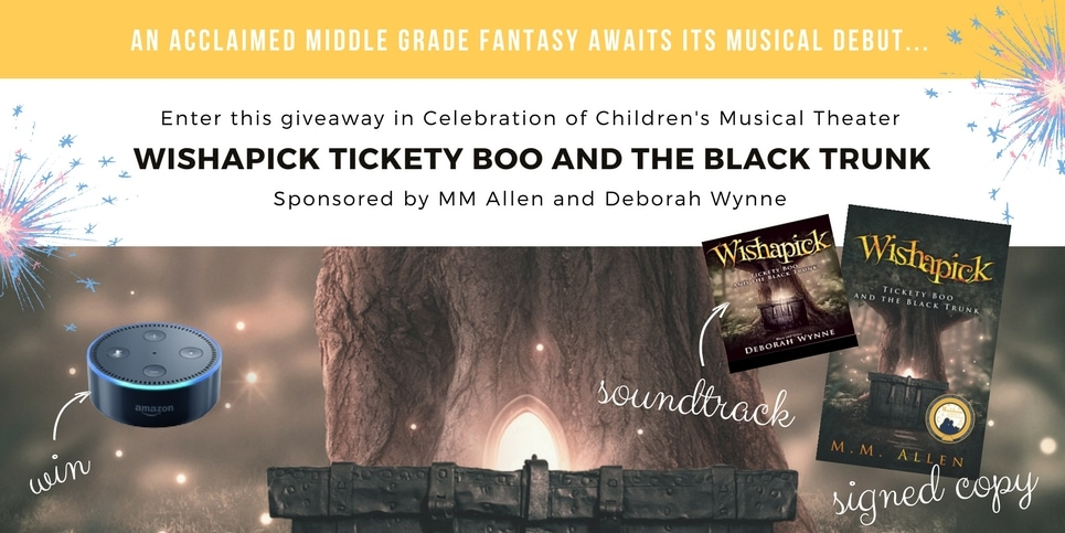 Wishapick Tickety Boo and the Black Trunk Giveaway Black