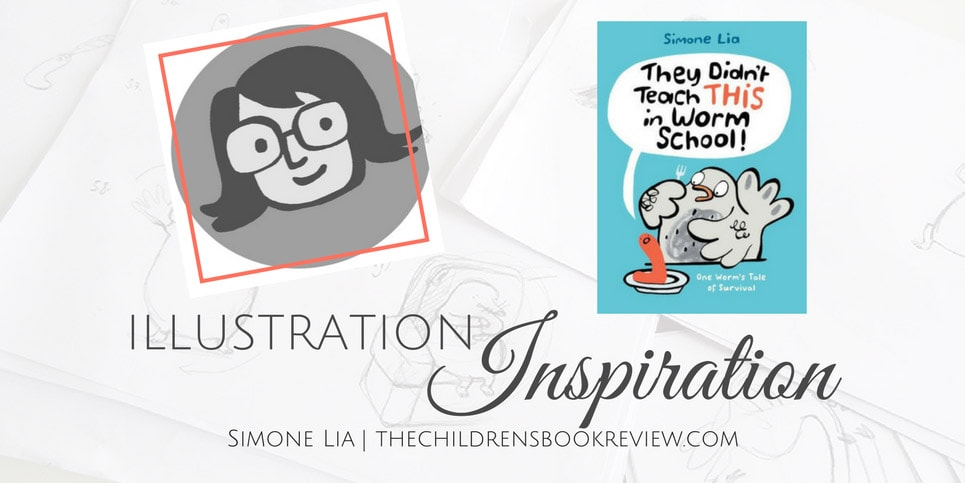Illustration-Inspiration-Simone-Lia-Author-Illustrator-Of-They-Didnt-Teach-THIS-in-Worm-School