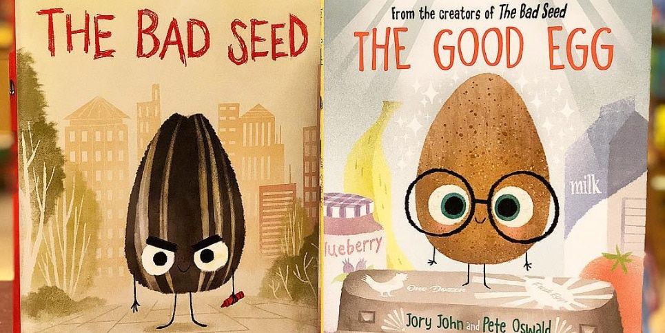 Books Bad Seed The Good Egg