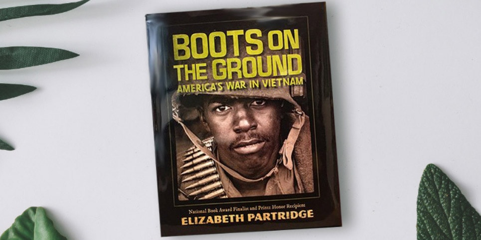 Boots-on-the-Ground-Americas-War-in-Vietnam-by-Elizabeth-Partridge-Book-Review