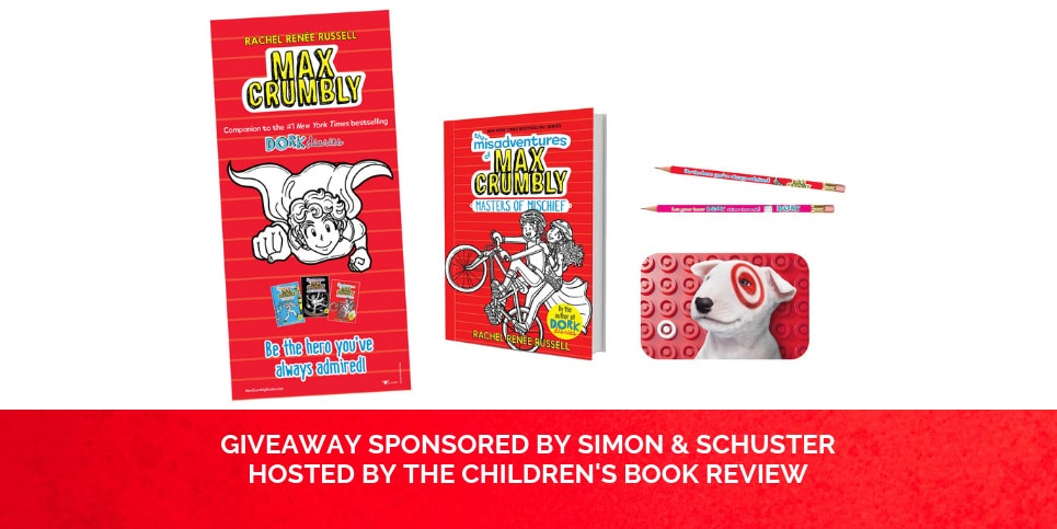 Rachel-Renee-Russells-The-Misadventures-of-Max-Crumbly-series-Masters-of-Mischief-Giveaway