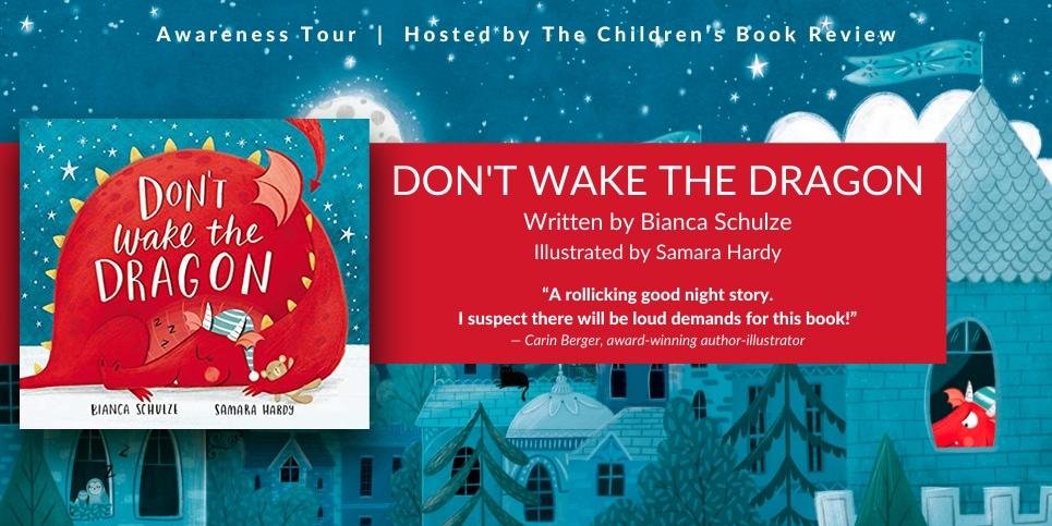 Book Tour Don't Wake the Dragon