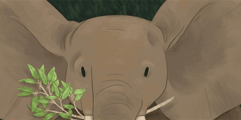 Book Art Elephant