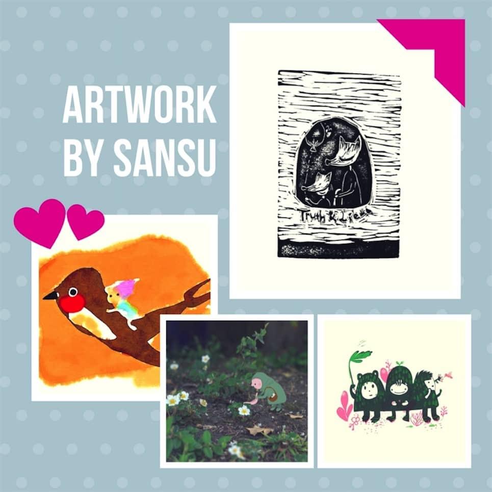 Win Artwork by Sansu
