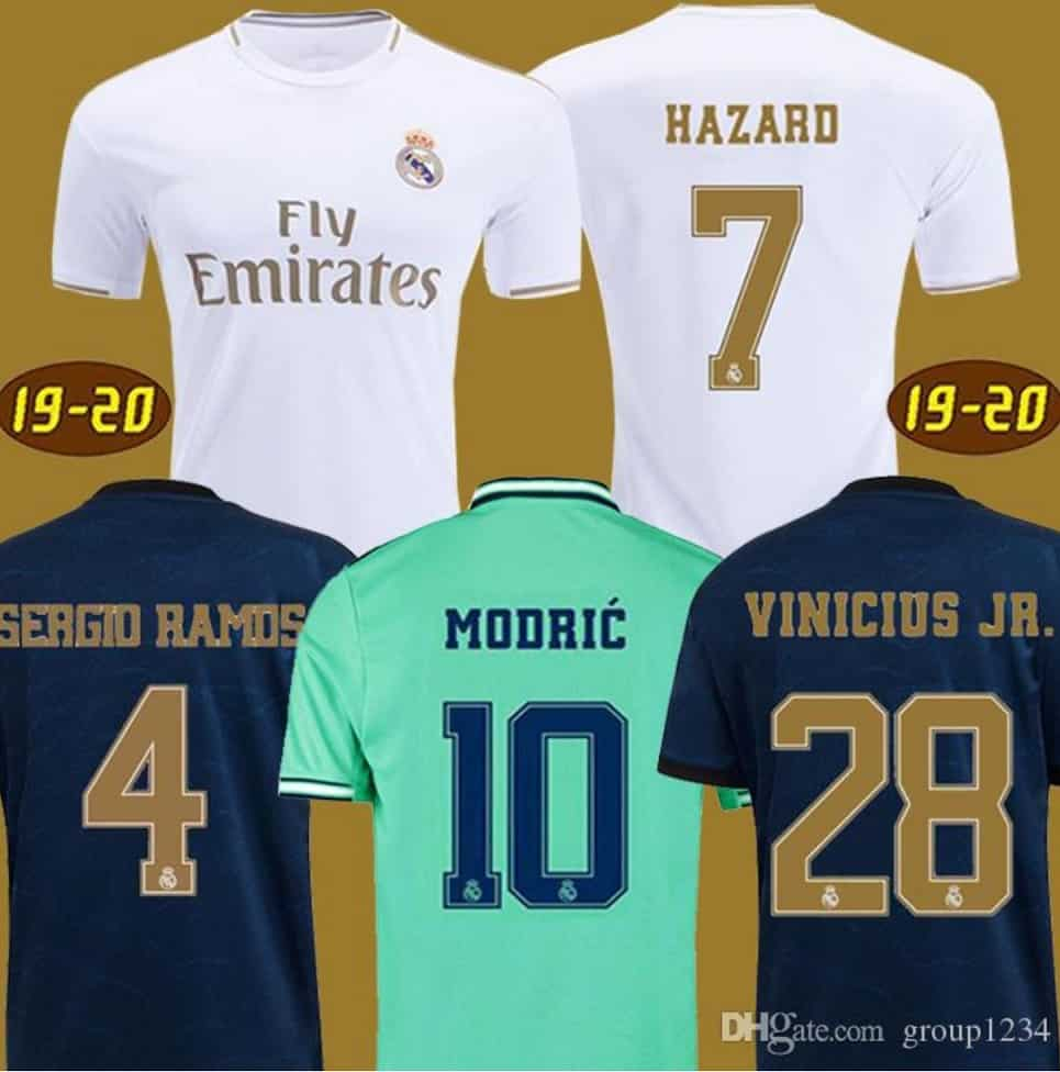 Best Chinese Replica DHGate Cheap Fake Nike Adidas Puma Jersey Seller 3 Spain Jerseys Real Madrid