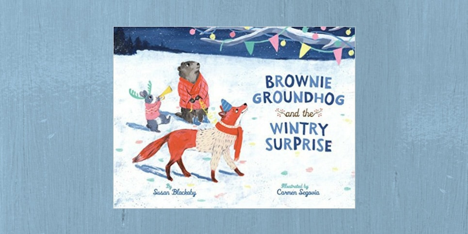 Brownie-Groundhog-and-the-Wintry-Surprise-by-Susan-Blackaby-Book-Review