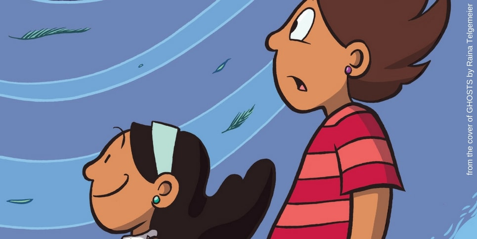 Ghosts by Raina Telgemeier Featured Image