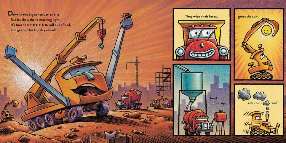 Mighty, Mighty Construction Site- Best New Books February