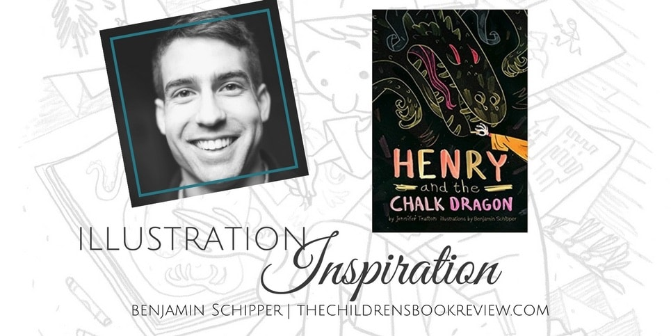 Illustration Inspiration Benjamin Schipper Henry and the Chalk Dragon