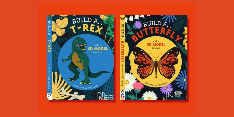 2 Books That Encourage Imaginative Play with a 3D Model to Build