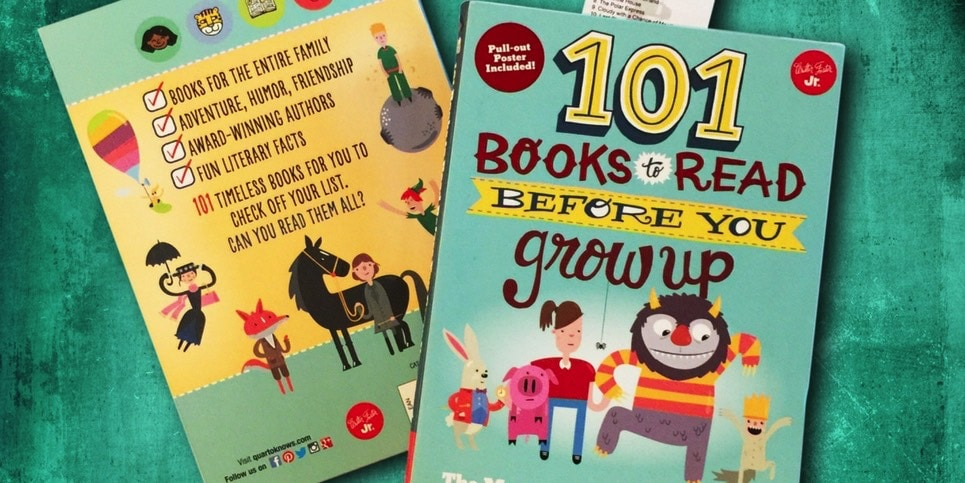 101 Books to Read Before You Grow Up Best Selling Middle Grade Books September 2017