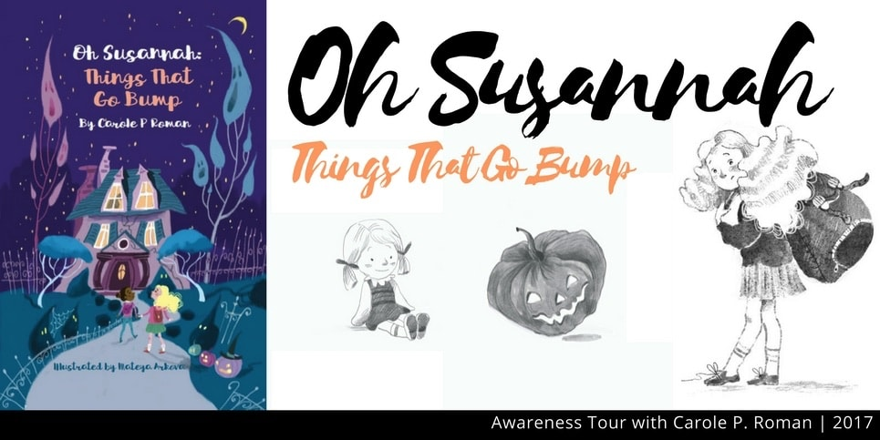 Oh Sussanah Things That Go Bump TCBR Tour Header