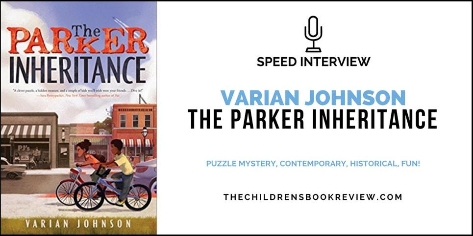 Varian-Johnson-Author-of-The-Parker-Inheritance-Speed-Interview