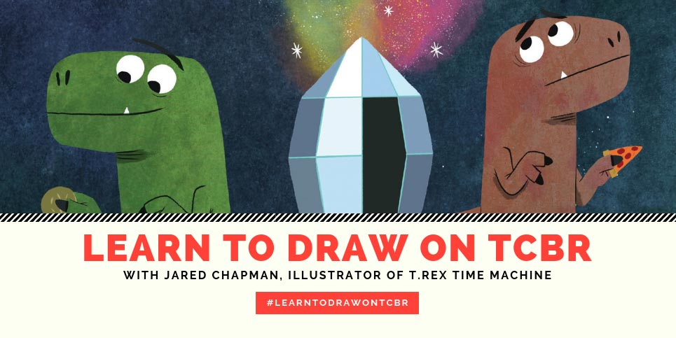 Learn-to-Draw-with-Jared-Chapman-Illustrator-of-T.Rex-Time-Machine