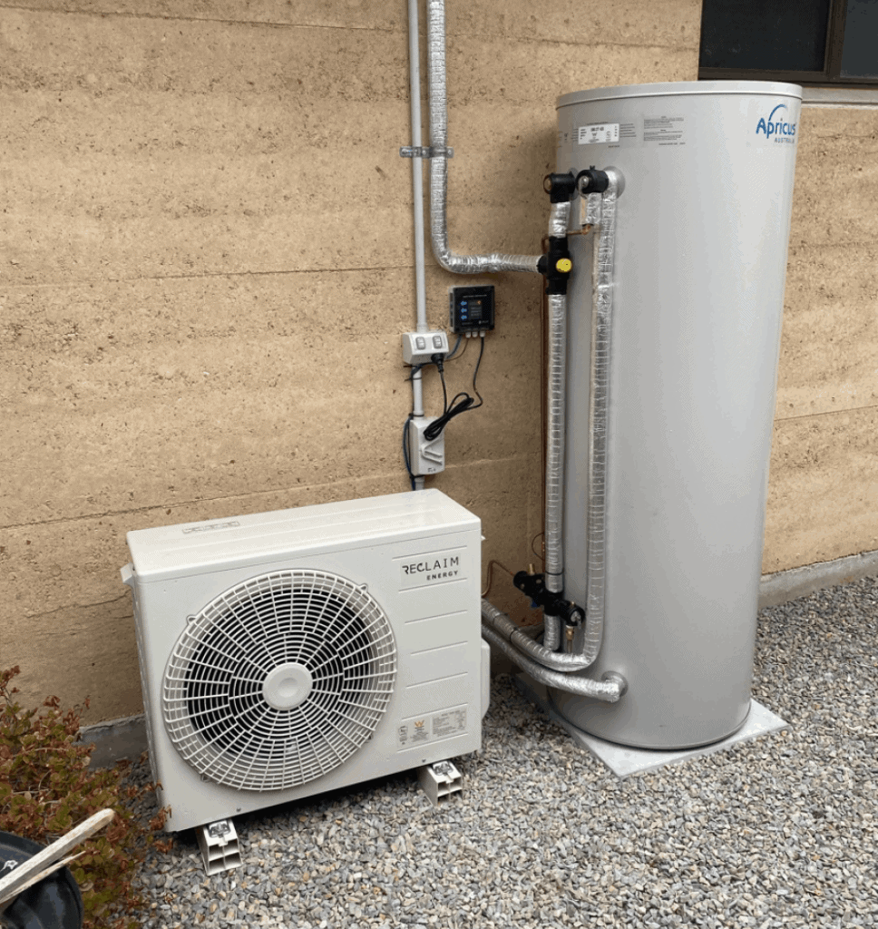 Reclaim Energy heat pump installed at Aldinga Beach
