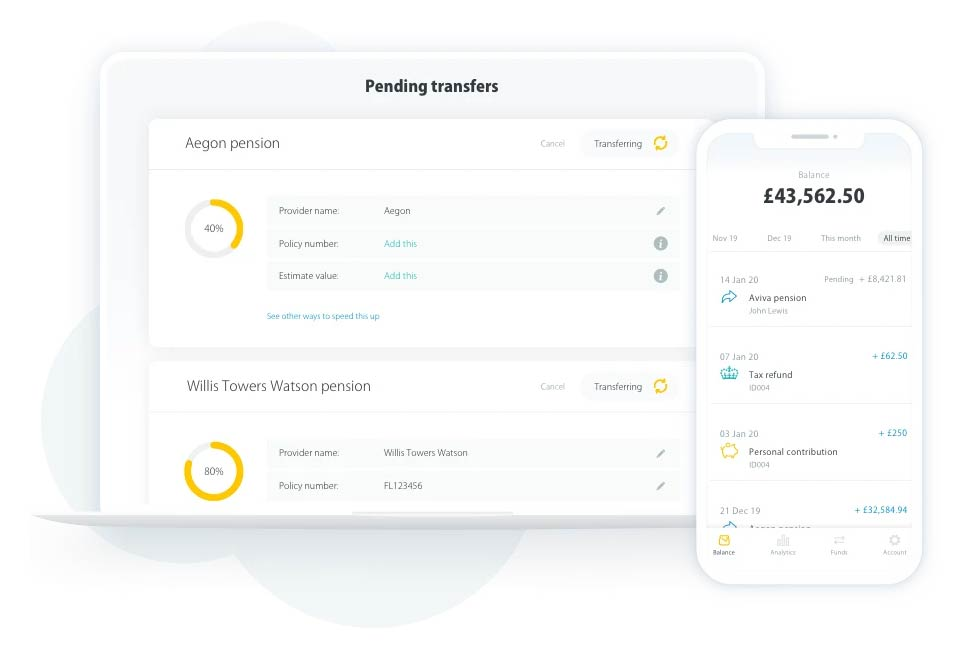 Transfer your pension to PensionBee