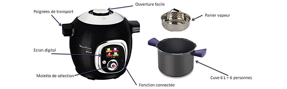 Moulinex Cookeo Connect accessoires