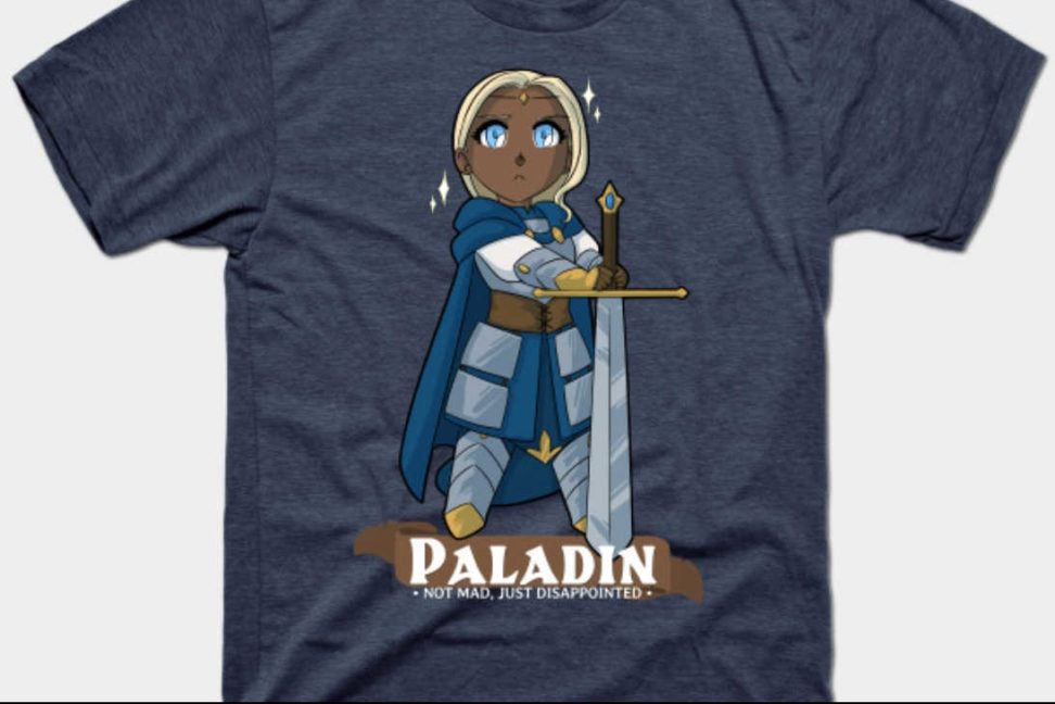 LFG Paladin T-shirt Preview