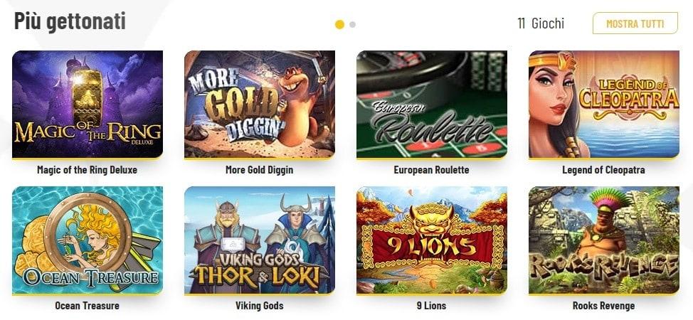 Lista giochi MaChance