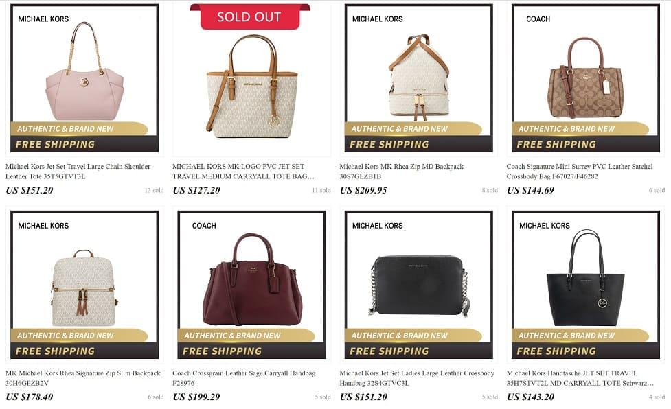 AliExpress Cheap Designer Women Luxury Handbags Replica Copy Purse Clim 3
