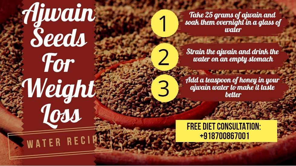 Ajwain Seeds for Weight Loss