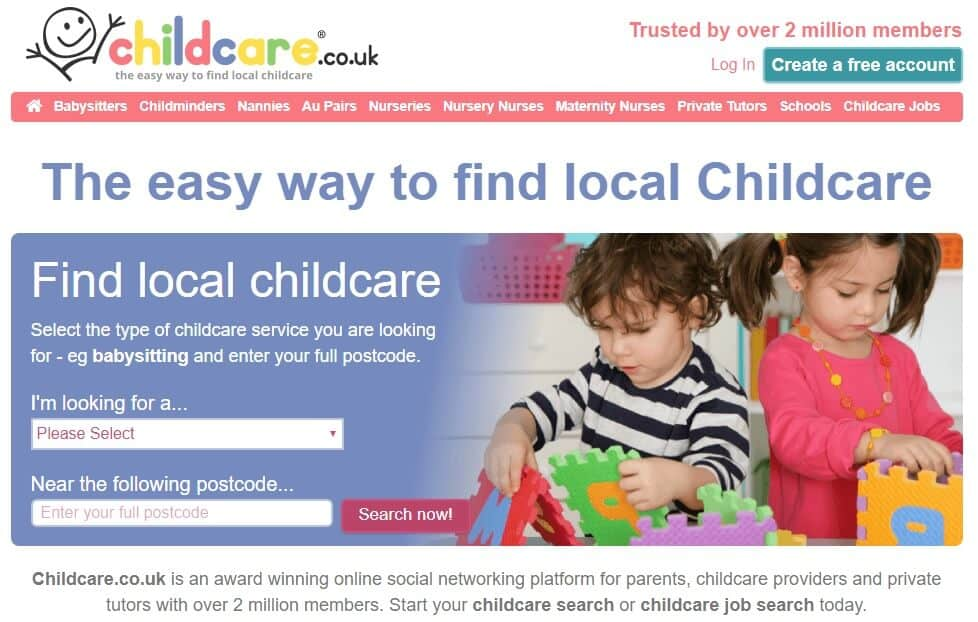 finding childcare in your local area