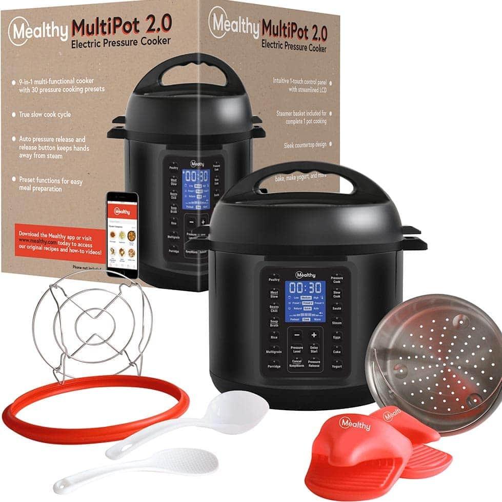 Pressure Cooker box and accessories
