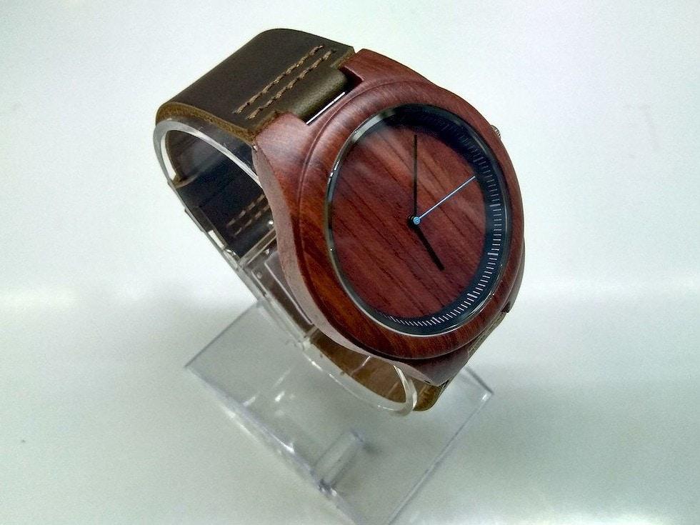 zegarek drewniany Filcomp