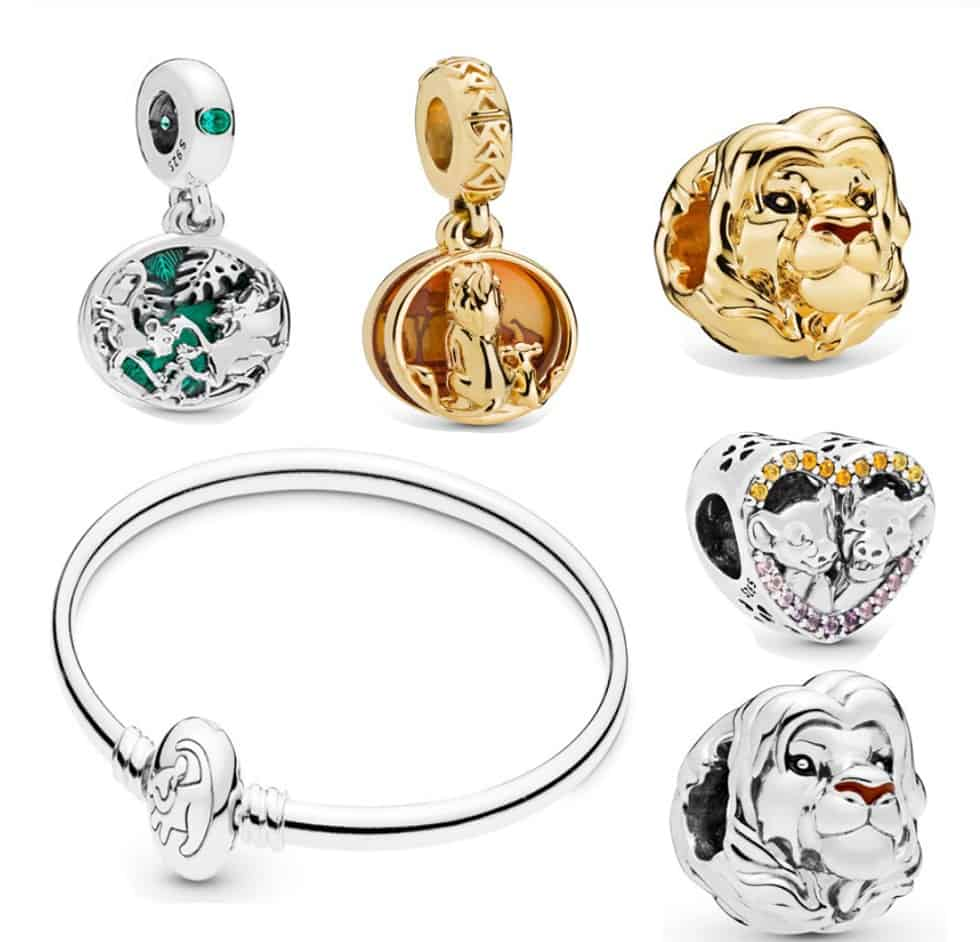 Pandora Charm Replica Bracelet Pendant Jewelry 925 Sterling Silver AliExpress Lion King Disney1