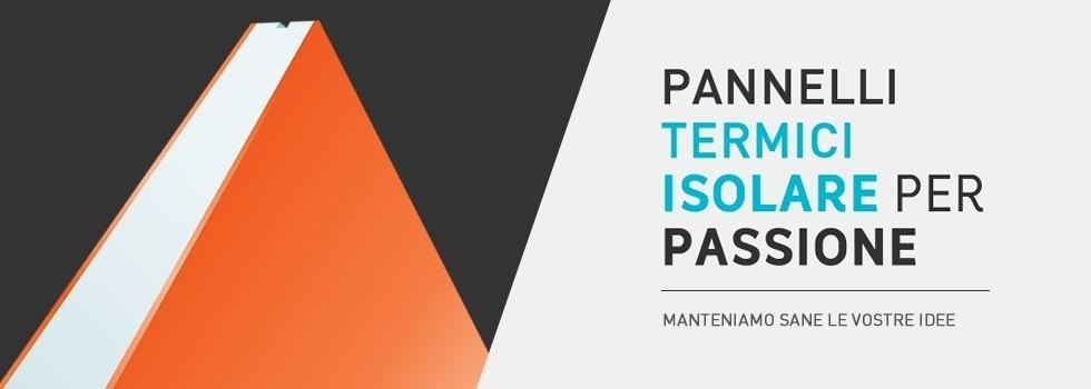 insulating panels - Banner con Pay off - Pannelli Termici Srl