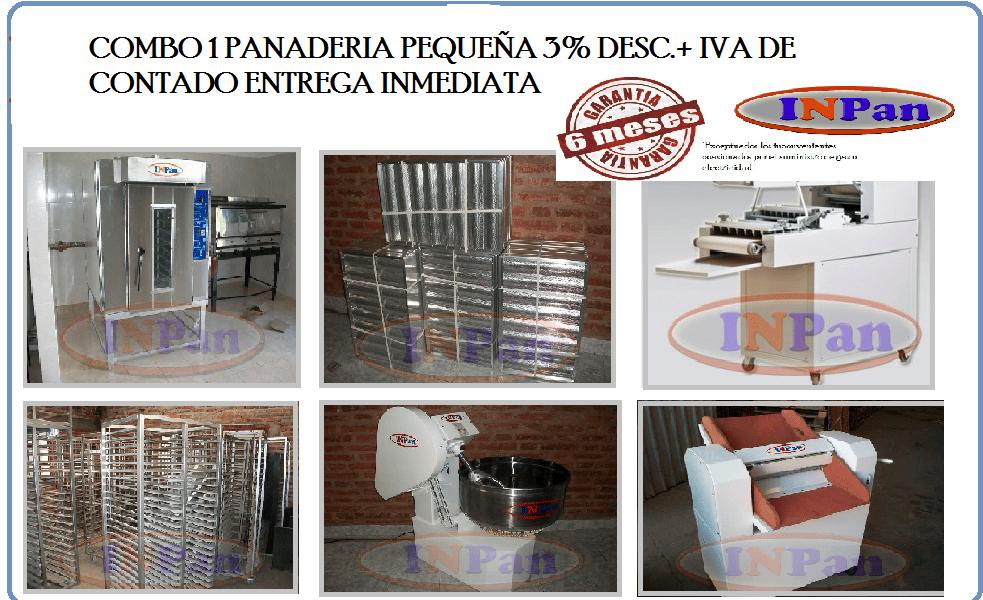 PANADERIA PEQUEÑA PRODUCCION