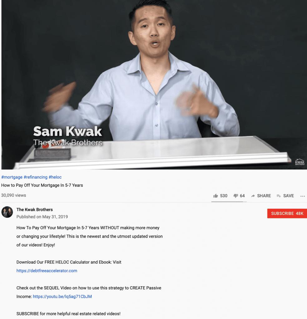 channel video descriptions