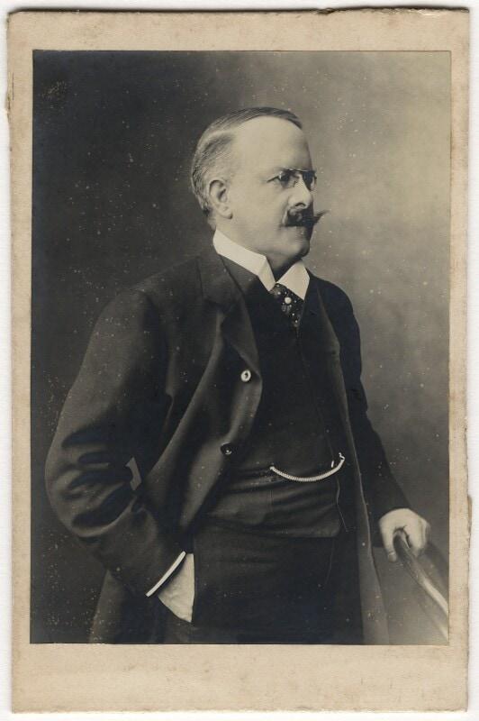 Dr John Barnardo by Stepney Causeway Studios bromide print on mount, 1900-1905. NPG | ccbyncnd3 licence