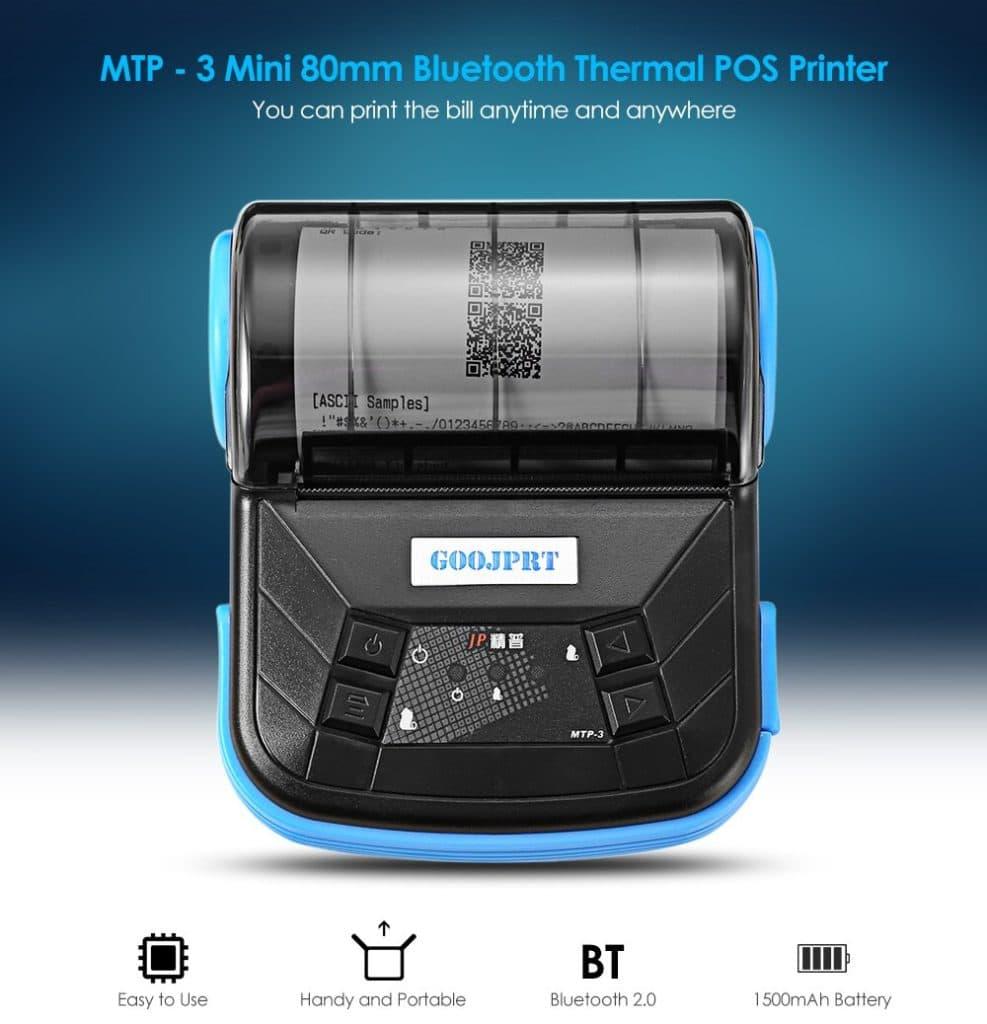 Imprimanta termica MTP-3 GOOJPRT 001