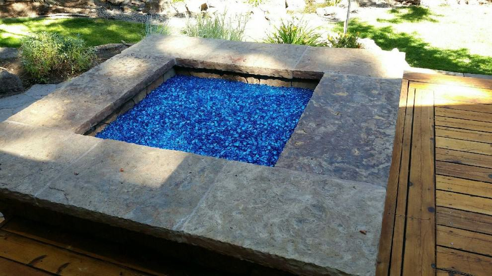 firepit glass rocks