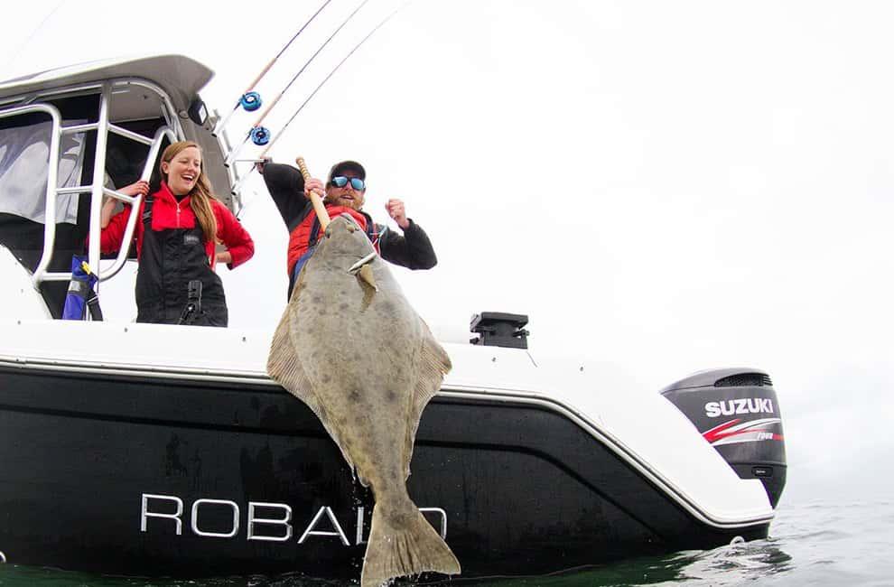 BC halibut Fishing