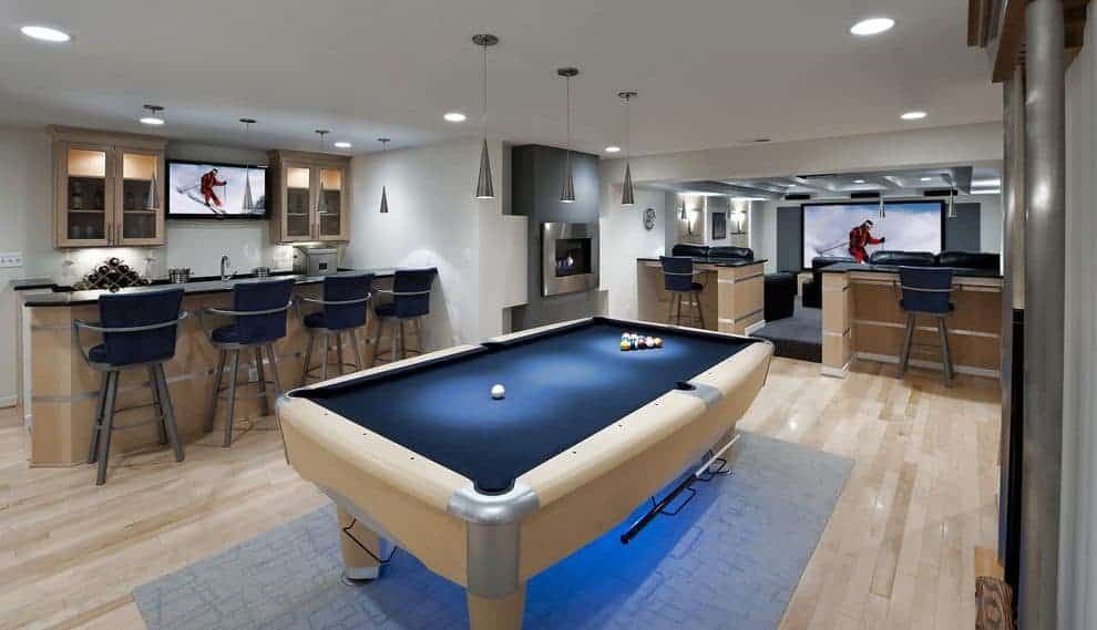 Cool Unfinished Basement Remodeling Ideas