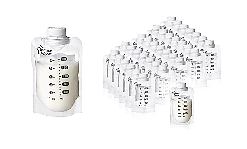 Tommee Tippee Pump and Go Breastmilk Storage Bags