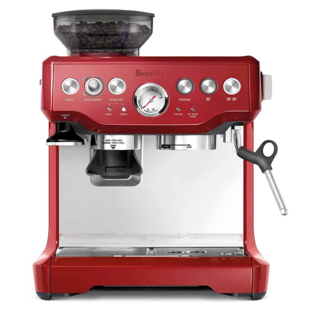 image of Barista Express Cranberry Red