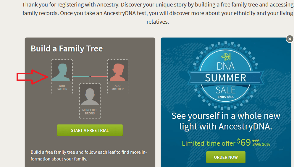 How to Add Parents on New Ancestry Tree