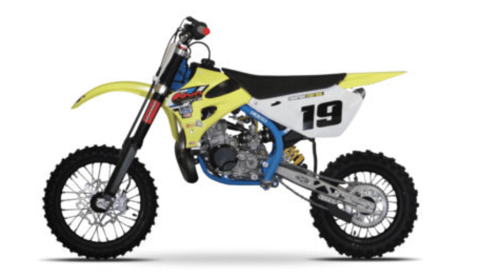 9 year olds kids cobra CX65 dirt bike