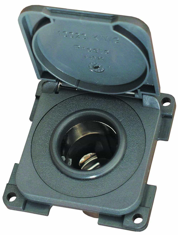 CBE Modular 12v Socket with Cover