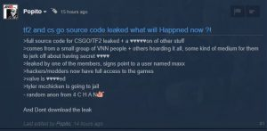 TF2 & CSGO Sourcecode leak !
