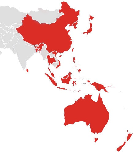 Map Of Southeast Asia Japan And Malaysia.Contact Old Apac Scientific