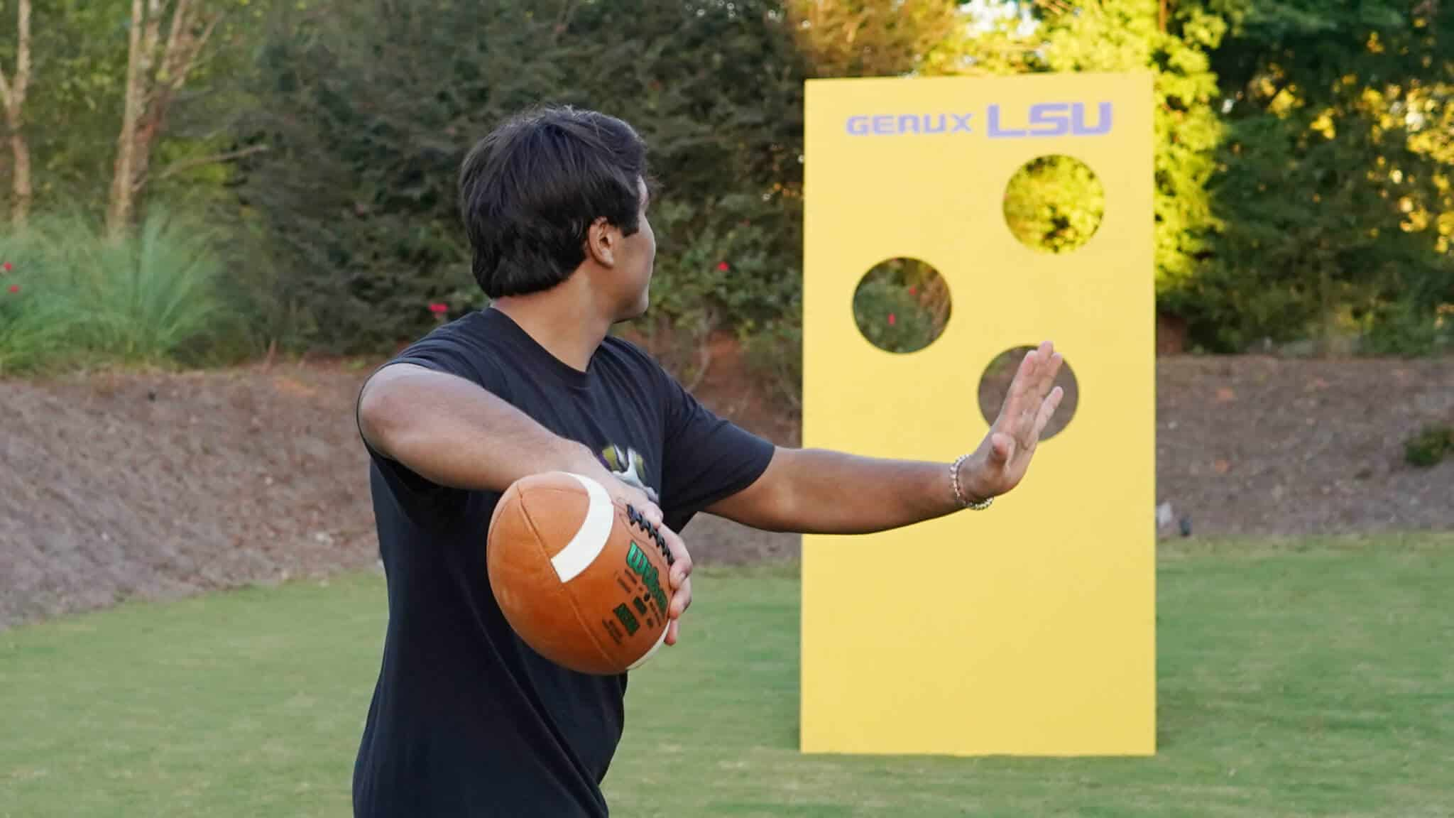 Score points with your very own Football Wall Toss